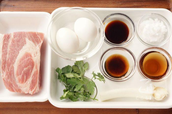 ベトナム風豚の角煮の材料
