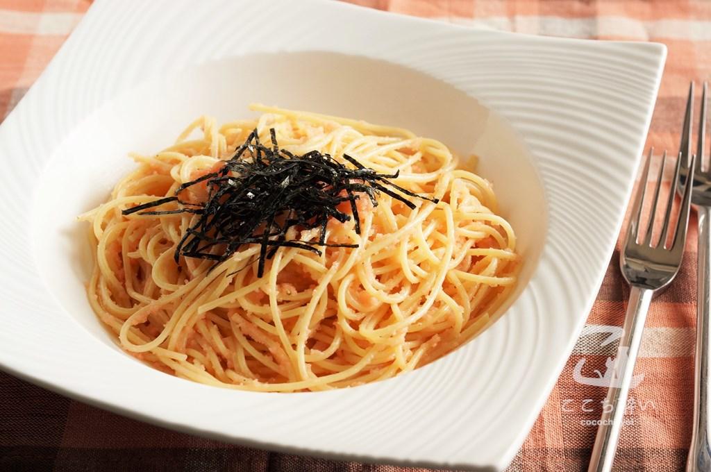たらこバタースパゲティ