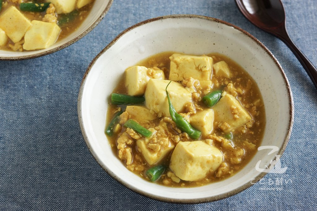 豆腐のカレー煮