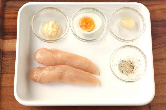 ささみ焼き(タルタルソース)の材料