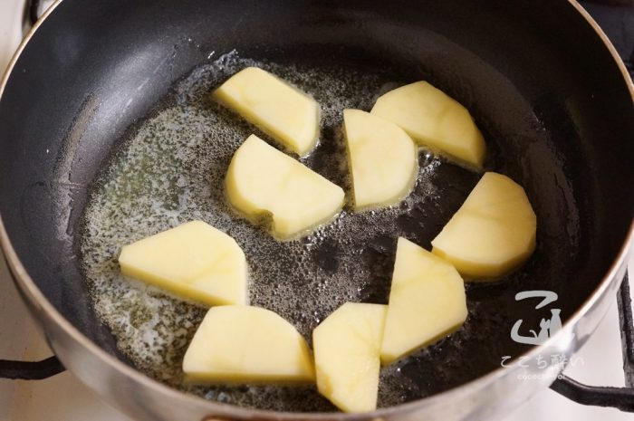 きつねのちゃんちゃん焼きの作り方の手順3
