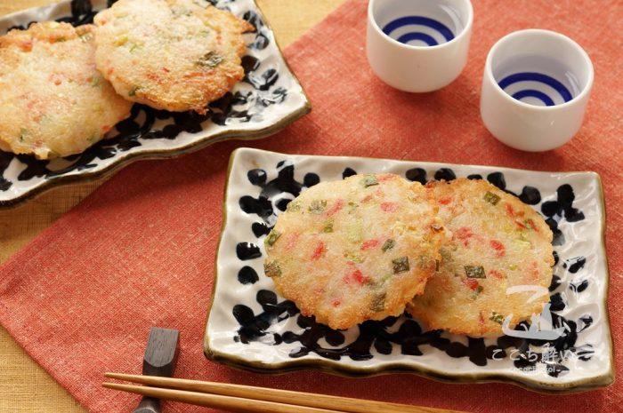 大根餅と日本酒