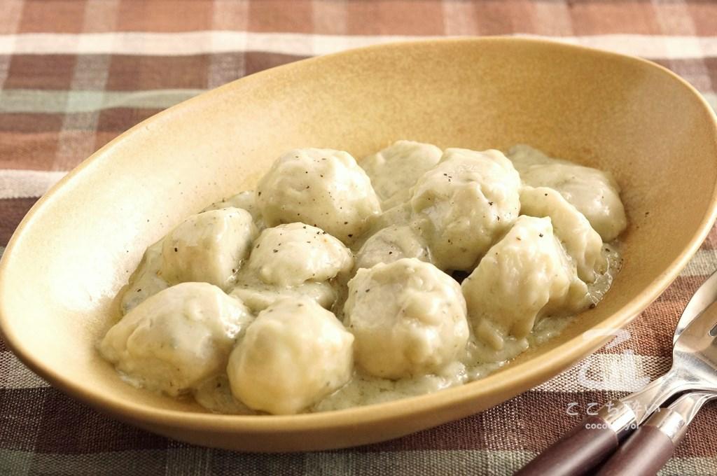 里芋のゴルゴンゾーラ
