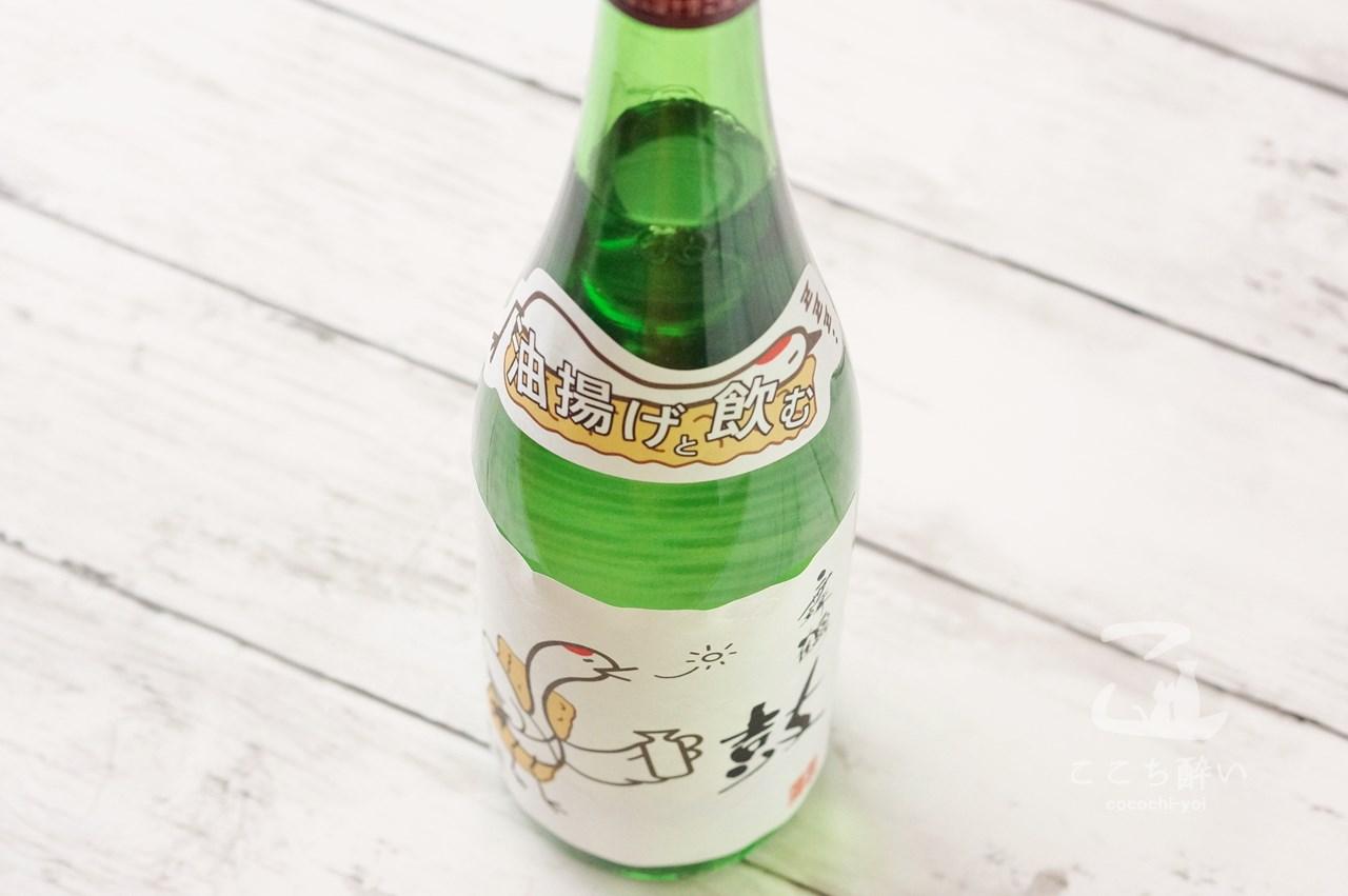 恩田酒造さんの「鶴と油揚げ」