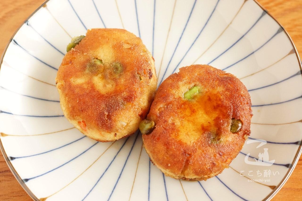 枝豆とチーズでアレンジした「ゼリーフライ」