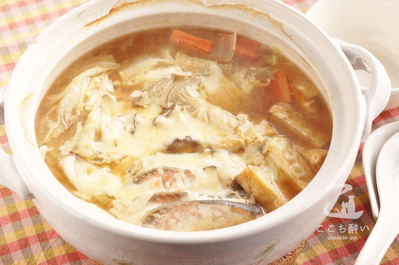 味噌チーズ鍋